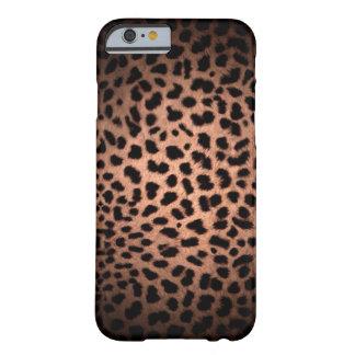 Caso clásico del iPhone 6 del leopardo de Funda De iPhone 6 Slim