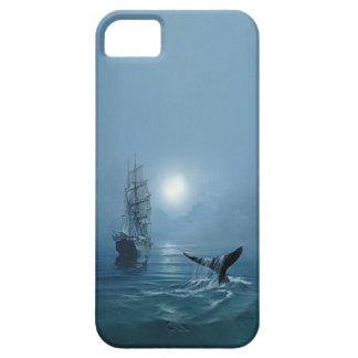 """caso """"cola del iphone 5 de la ballena """" funda para iPhone 5 barely there"""