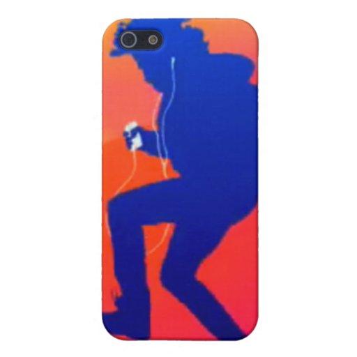 caso comercial del iPhone de iTunes iPhone 5 Carcasas