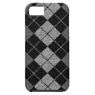Caso cómodo del iPhone 5 de la mirada de Argyle iPhone 5 Carcasas