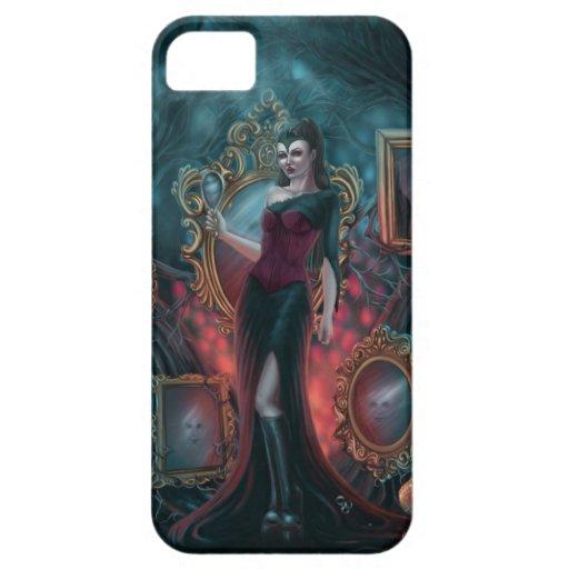 Caso complejo del iPhone 5 de la reina malvada iPhone 5 Carcasas