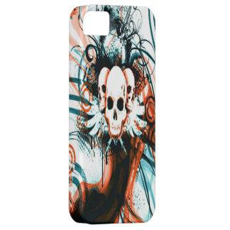 Caso con alas de Iphone 5 del cráneo iPhone 5 Fundas