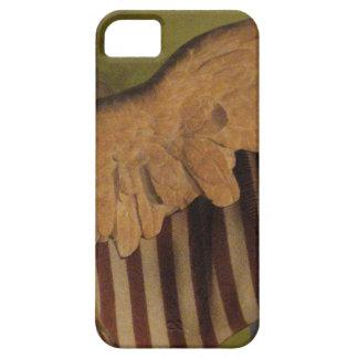 Caso con alas del iphone 5 de la victoria II iPhone 5 Funda