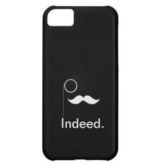 Caso con clase de Iphone 5 del bigote