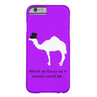 Caso con clase de los camellos Iphone6/6s Funda De iPhone 6 Barely There