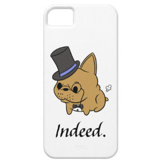 Caso con clase de Rocco iPhone5 (cervatillo) Funda Para iPhone 5 Barely There