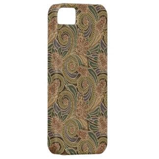 Caso con clase del iPhone 5 de Paisley del vintage iPhone 5 Carcasas