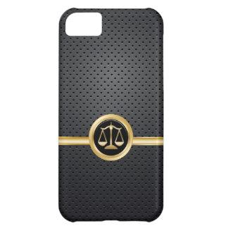 Caso con clase del iPhone 5C del abogado