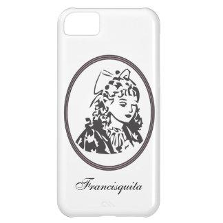 Caso con el logotipo de la tienda de Francisquita Funda Para iPhone 5C