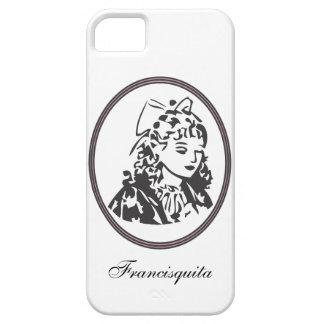 Caso con el logotipo de la tienda de Francisquita iPhone 5 Carcasas