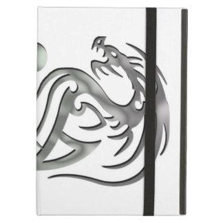 Caso con Kickstand, dragón del iPad del iCase de P