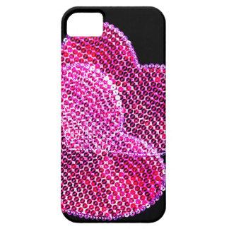 Caso con lentejuelas del iphone 5 del diseño de funda para iPhone SE/5/5s