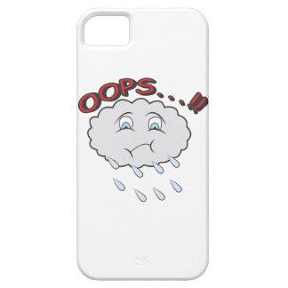caso con una pequeña nube incontinente iPhone 5 carcasas