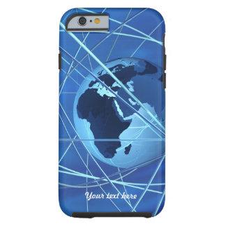 Caso conectado estancia del iPhone 6 de la opinión Funda De iPhone 6 Tough
