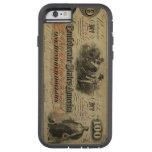 Caso confederado del iPhone 6 de la moneda del