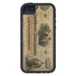 Caso confederado del iPhone de la moneda del vinta iPhone 5 Coberturas