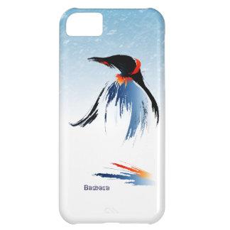 Caso congelado del iPhone 5 C del pingüino del hie Carcasa iPhone 5C