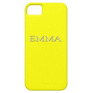 Caso conocido de encargo del iPhone 5 de Emma iPhone 5 Case-Mate Funda