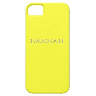 Caso conocido de encargo del iPhone 5 de Hannah Funda Para iPhone 5 Barely There