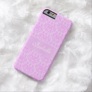 Caso conocido de encargo del iphone 5 de la lila funda para iPhone 6 barely there