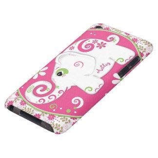 Caso conocido de encargo floral del tacto de iPod  Barely There iPod Coberturas