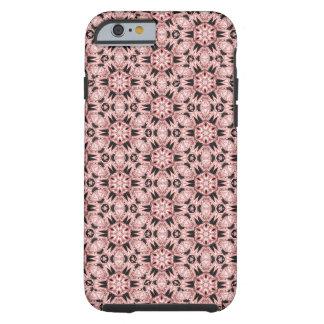 Caso coralino del iPhone 6/6s del caleidoscopio de Funda Resistente iPhone 6