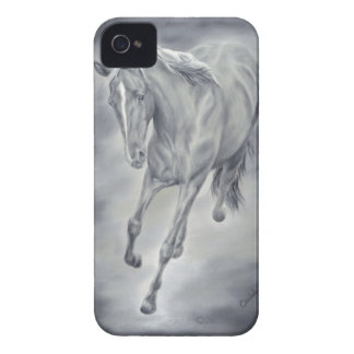 Caso corriente del caballo iPhone4/4S Funda Para iPhone 4 De Case-Mate