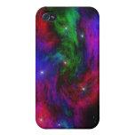 Caso cósmico del iPhone de la lona iPhone 4/4S Carcasas