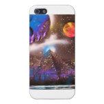 Caso cósmico del iPhone de la pirámide iPhone 5 Cárcasas