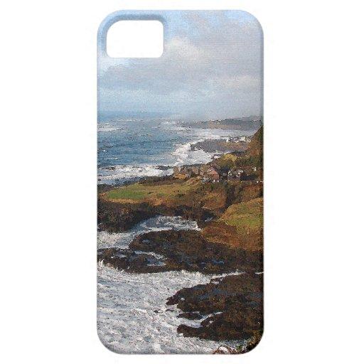 Caso costero del iPhone 5 de Oregon iPhone 5 Funda