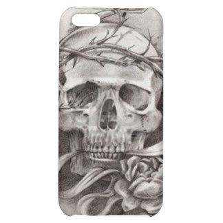 Caso cráneo de IPhone 4 con la corona de espinas