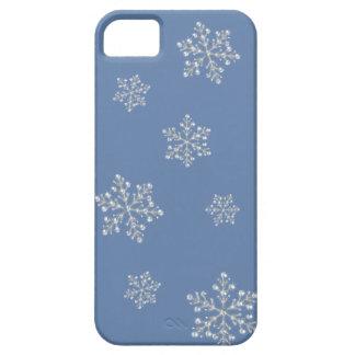 Caso cristalino del iPhone 5 del copo de nieve iPhone 5 Funda