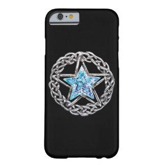 Caso cristalino del iPhone 6 de la estrella del Funda De iPhone 6 Barely There