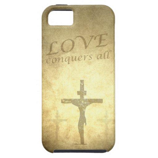 Caso cristiano del iPhone 5 de Jesús Apple iPhone 5 Case-Mate Carcasas