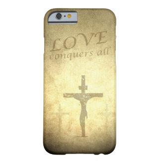 Caso cristiano del iPhone 6 de Jesús Funda De iPhone 6 Barely There