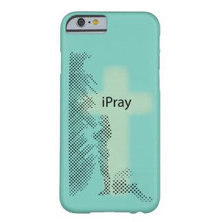Caso cristiano del iPhone: iPray Funda De iPhone 6 Barely There