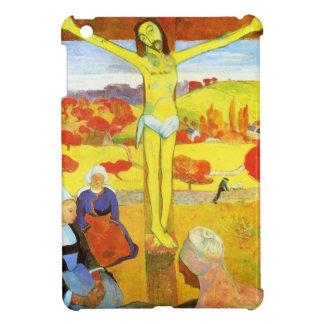 Caso Cristo del iPad amarillo de Gauguin mini iPad Mini Carcasa