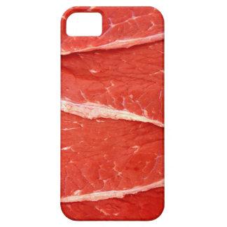 Caso crudo del iphone 5 de la carne del filete de iPhone 5 carcasas