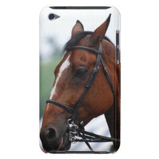 Caso cuarto de iTouch del perfil del caballo iPod Touch Case-Mate Coberturas