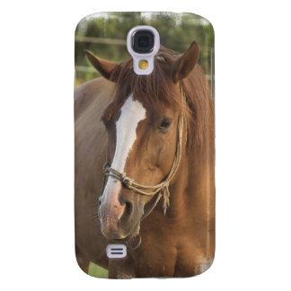 Caso cuarto del iPhone 3G del caballo de la castañ