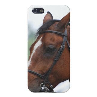Caso cuarto del iPhone 4 del perfil del caballo iPhone 5 Coberturas
