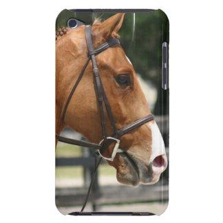 Caso cuarto dulce de iTouch del caballo iPod Touch Protectores
