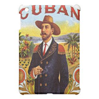 Caso cubano del iPad de la mota de la etiqueta del