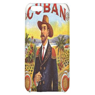 Caso cubano del iPhone 4 de la mota de la etiqueta
