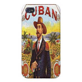 Caso cubano del iPhone 4 de la mota de la etiqueta iPhone 4/4S Fundas