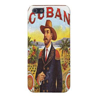 Caso cubano del iPhone 4 de la mota de la etiqueta iPhone 5 Funda