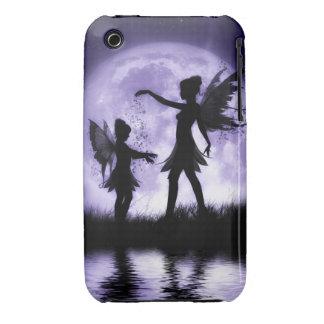 Caso/cubierta de hadas de Iphone 3g de las hermana iPhone 3 Fundas