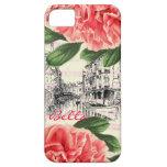 Caso/cubierta del iPhone 5 del peony de Bella Ital iPhone 5 Carcasa
