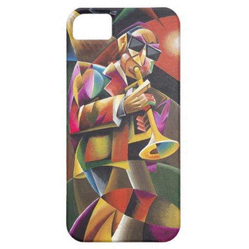 """""""Caso cubista del iPhone 5 de la bella arte del iPhone 5 Fundas"""