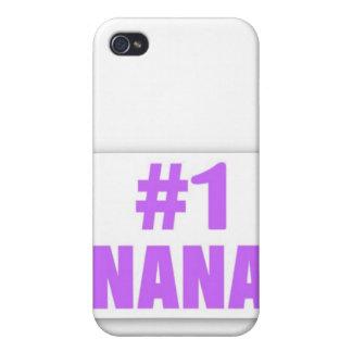 Caso de #1 Nana Iphone iPhone 4/4S Carcasas